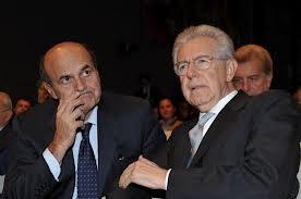 Bersani, PD, Monti , Crisi, PDl, F35 , guerra