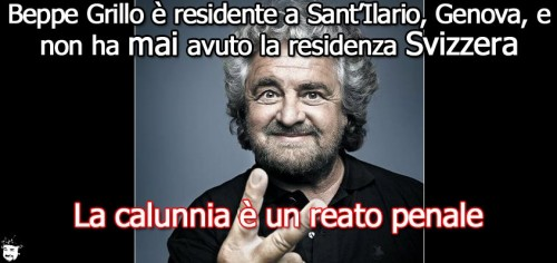 Beppe Grillo, movimento 5 stelle