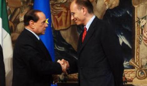 letta, Berlusconi, Alfano, Grillo,fiducia