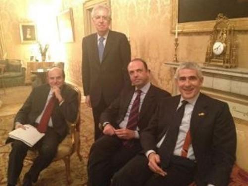 Monti, Pd, Bersani, Berlusconi, pdl, napolitano, Renzi.,Grillo